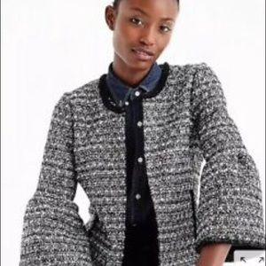 J Crew Lady Jacket Tweed Sz 4